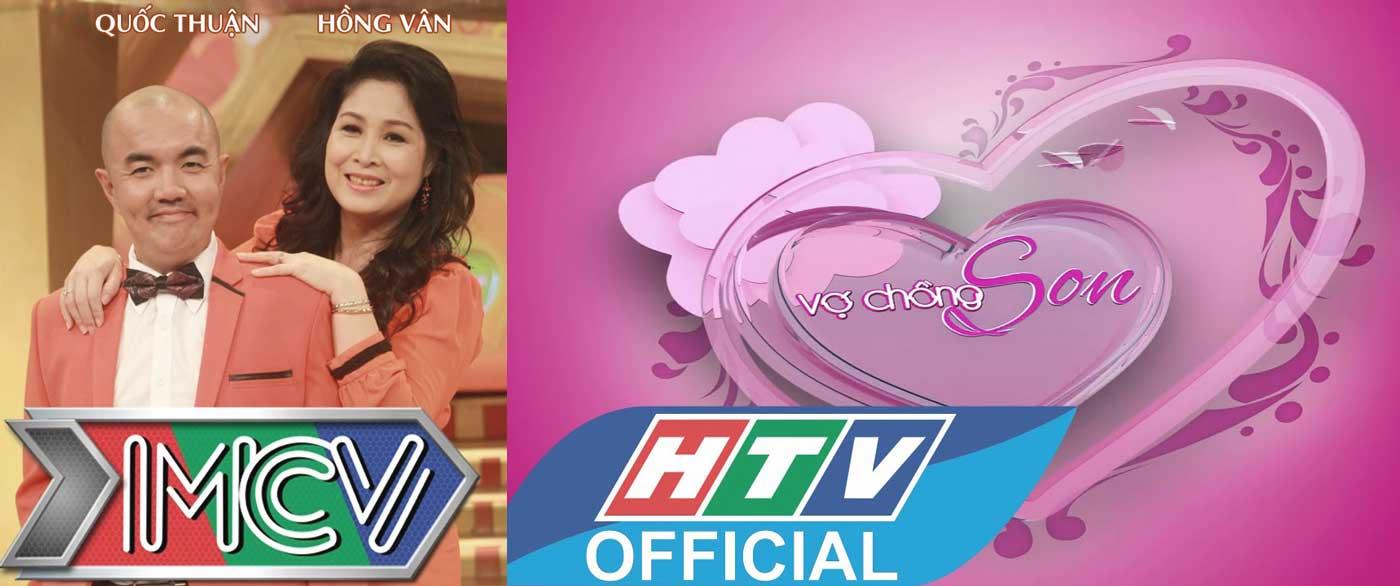 Chương trình Vợ Chồng Son HTV OFFICIAL MCV MC Quốc Thuận Hồng Vân Logo Icon