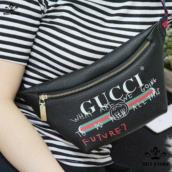 Túi Gucci đeo chéo trước ngực cho nữ và nam