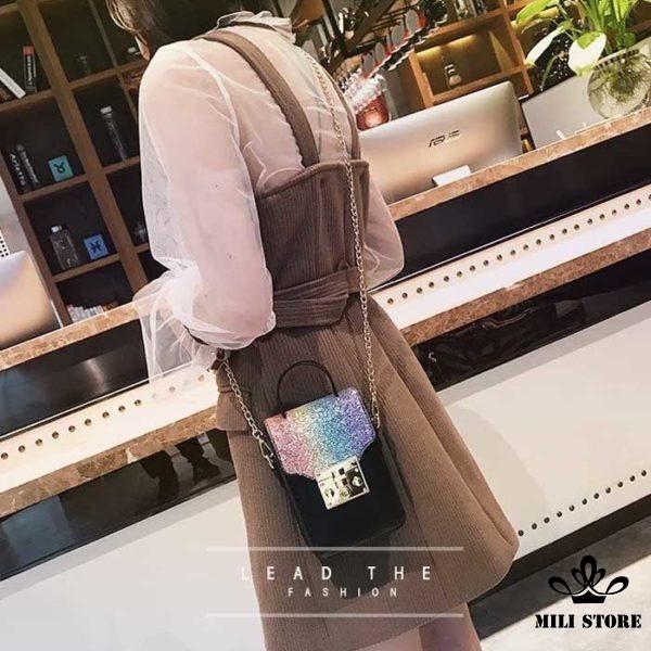 Túi đeo chéo đựng điện thoại hàng loại 1 da mềm quảng châu