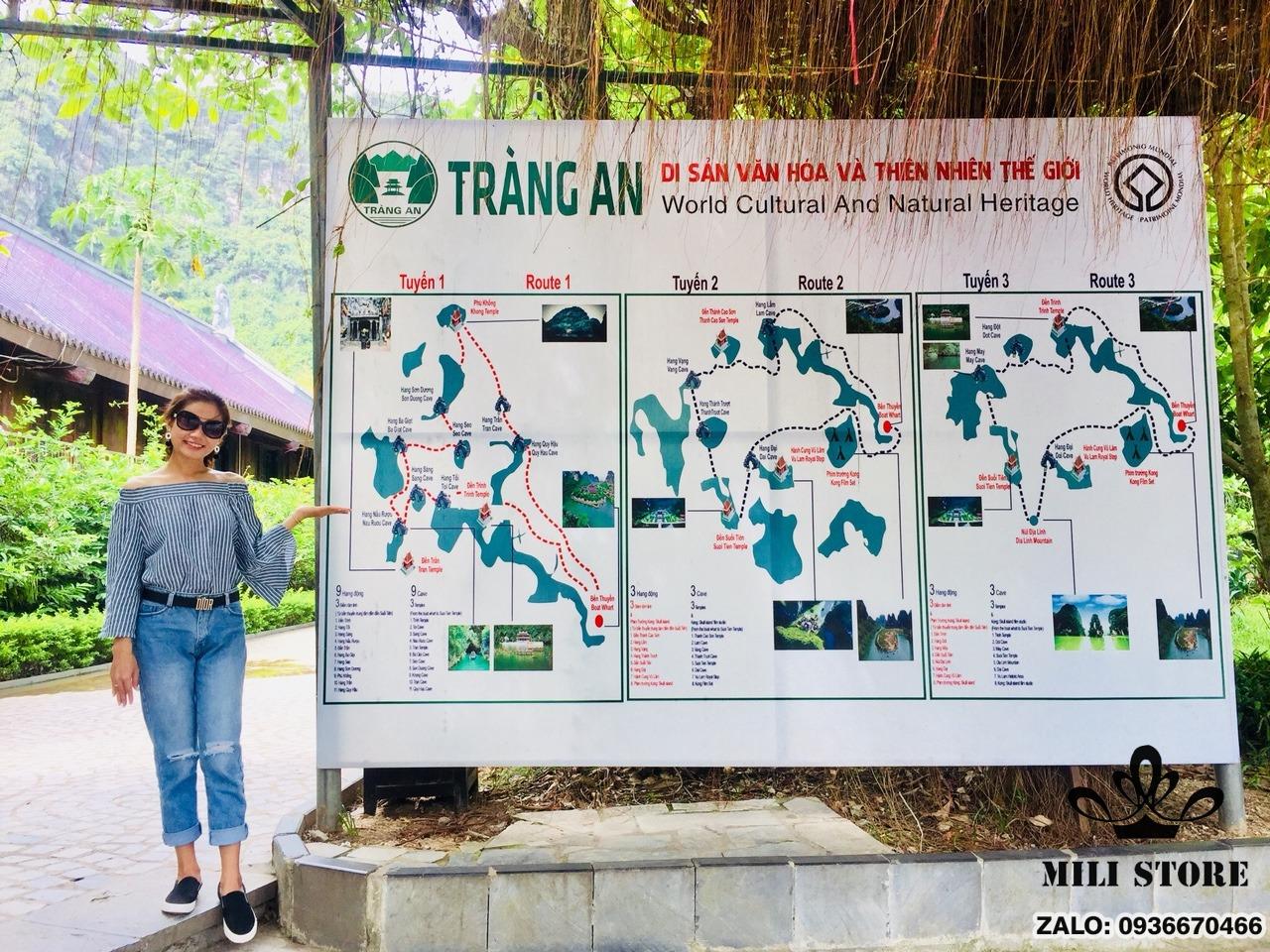 3 tuyến du lịch Tràng An Ninh Bình