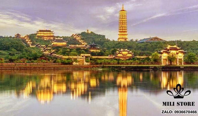 Chùa Bái Đính Ninh Bình toàn cảnh du lịch Việt Nam