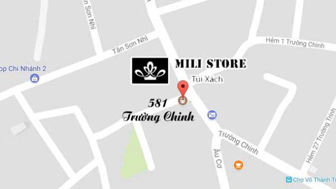 địa chỉ shop milistore 581 Trường Chinh
