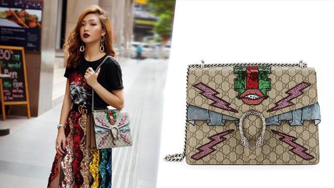 Khám phá loạt túi xách hàng hiệu của dàn giáo đồ  phong cách  Việt-5