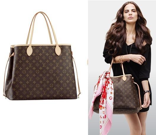 Túi xách nữ Louis Vuitton Neverfull