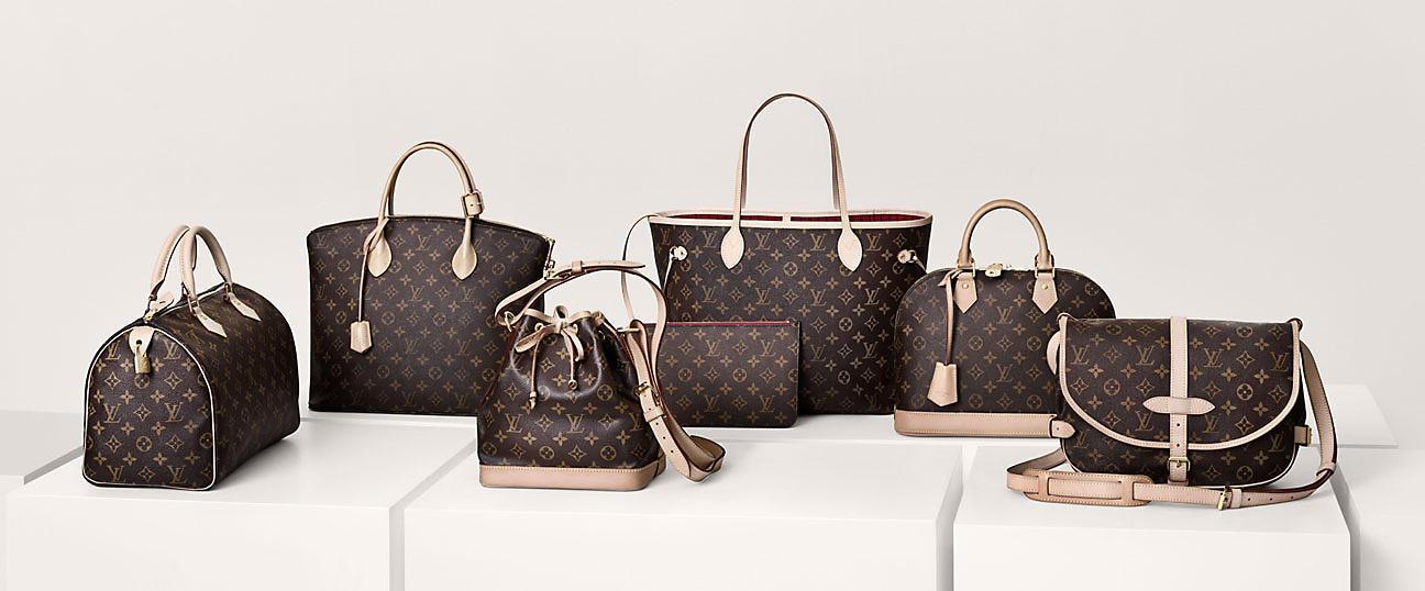 Mẫu túi xách nữ Louis Vuitton và sự hồi sinh của họa tiết Monogram