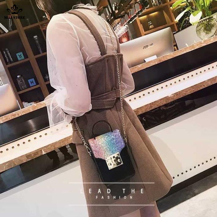 Túi đeo chéo đựng thiết bị cầm tay hàng loại 1 da mềm quảng châu