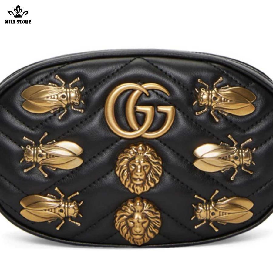 Túi Gucci đeo ngang Hông đeo trước bụng dáng đẹp hót 2018
