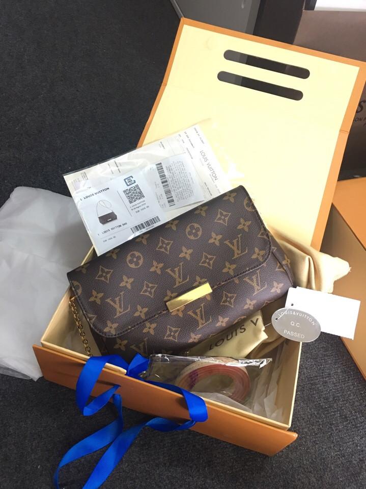 Hoá đơn Túi Louis Vuitton FAVORITE