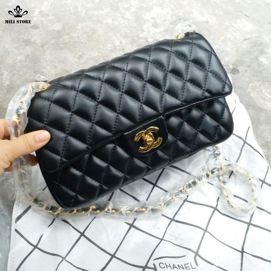 tui xach chanel classic f1 theo phong cach co dien sang trong