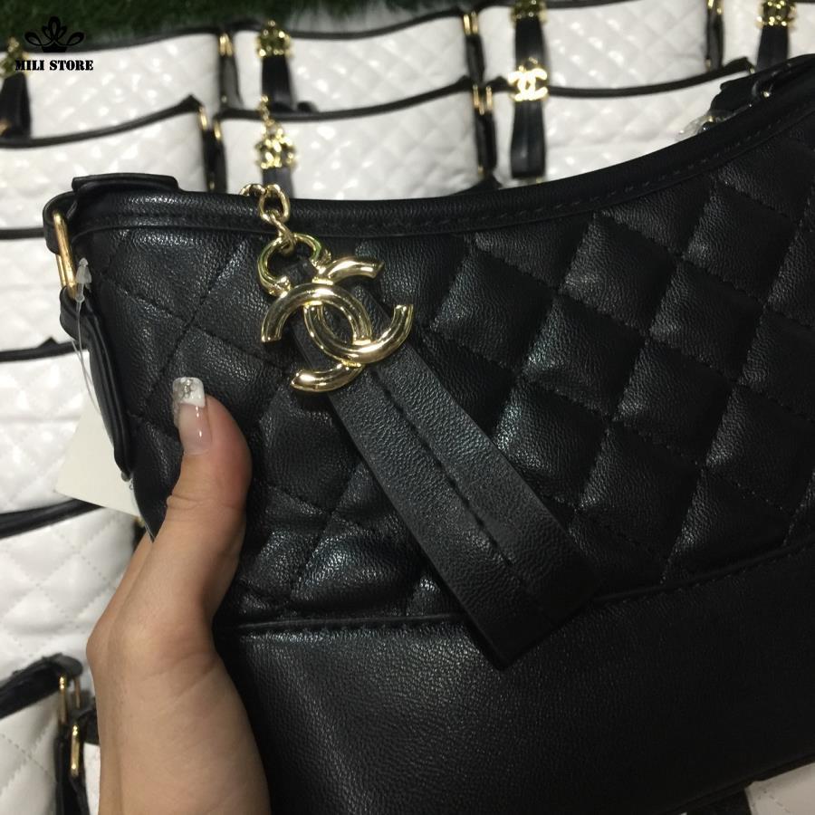 Túi Chanel Hobo màu đen Gabrielle loại 1