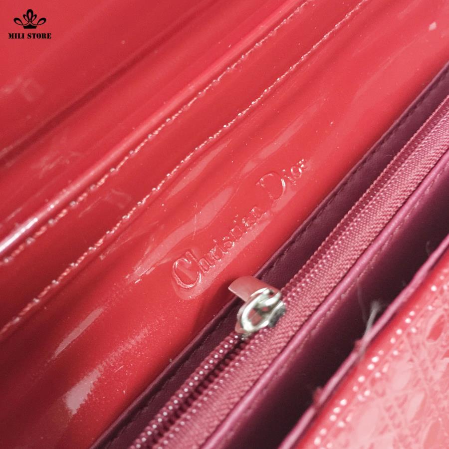 túi xách dior màu đỏ