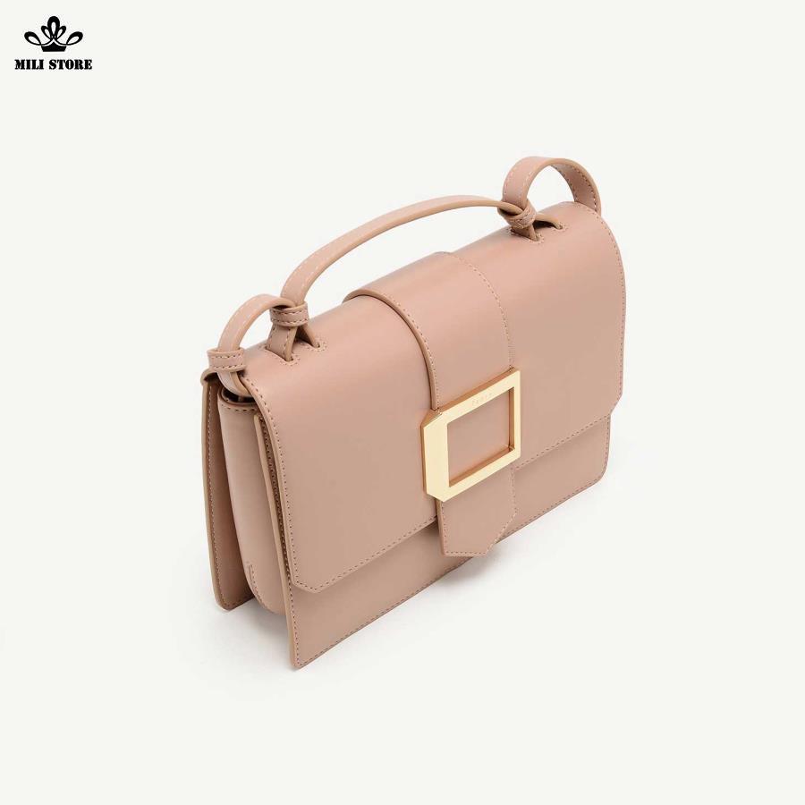 Túi xách màu hồng hiệu Pedro đem đi  làm, túi xách công sở