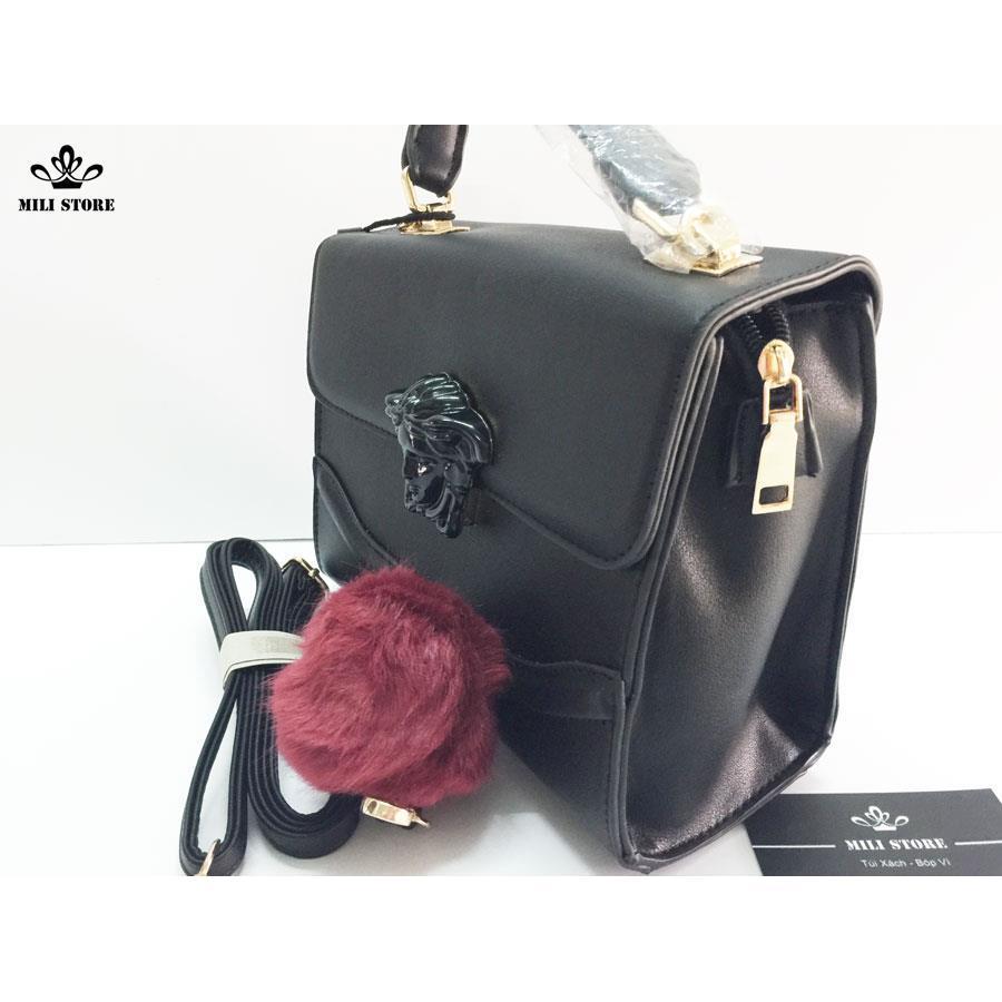 túi versace đen tinh té đẳng cấp  đẹp