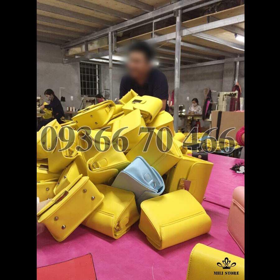 Công xưởng máy túi xách Zara dây thổ cẩm