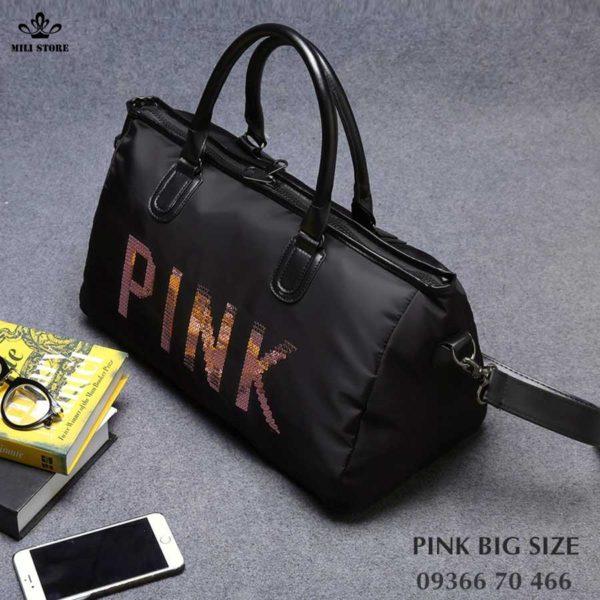 pink túi xách tay big size lớn túi tập gym đi du lịch