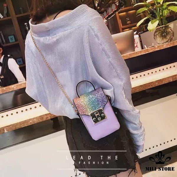 Túi đựng điện thoại đeo chéo hàng loại 1 quảng châu giá rẻ đẹp
