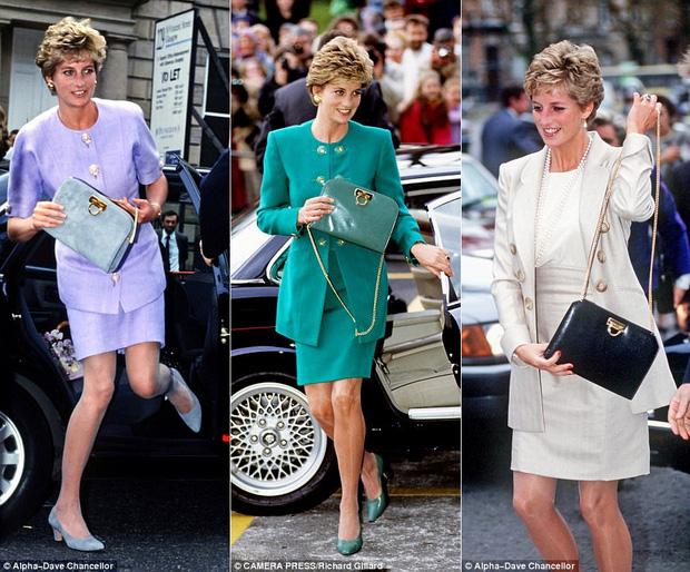 Công nương Diana: fashion icon hoàng phái  độc nhất  chiếm hữu  đến 2 mẫu túi đình đám được đặt theo tên mình-3