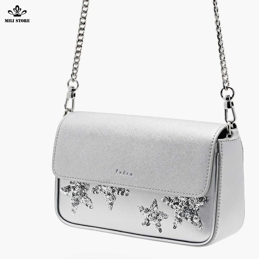 túi màu bạc