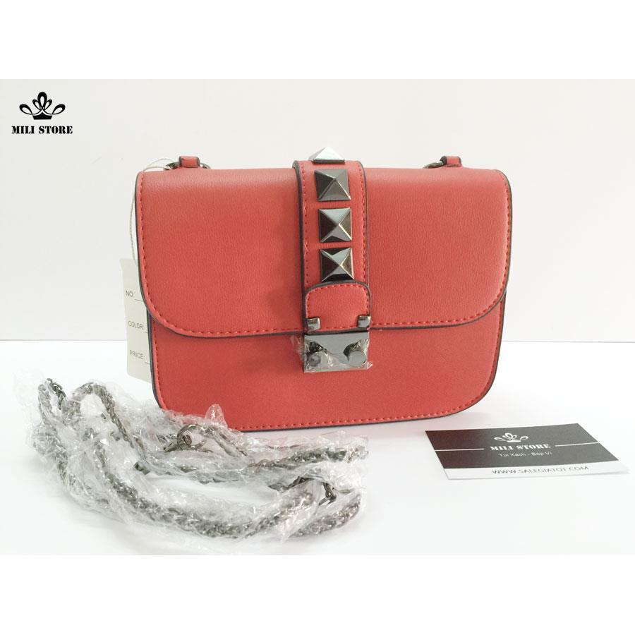 túi đinh đỏ đẹp mềm mịn đẳng cấp  quý phái