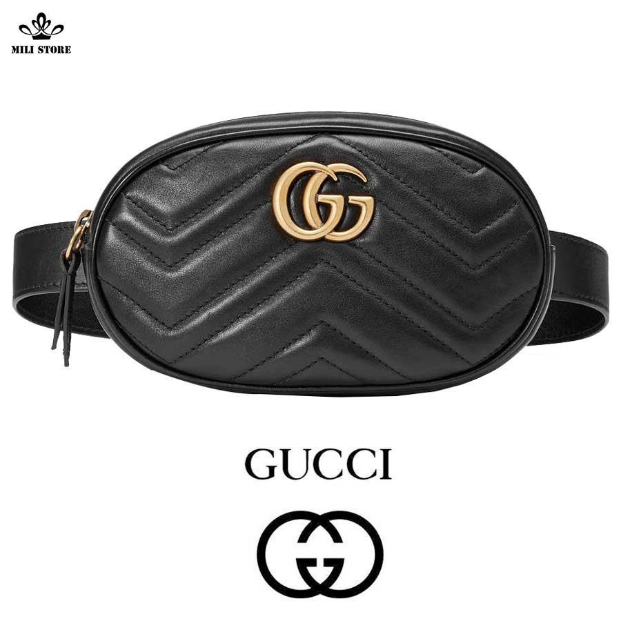 Túi Gucci đeo trước bụng, đeo ngang hông, ngang eo, chéo trước ngực