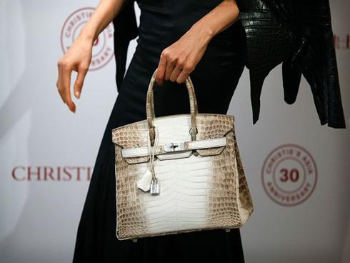 Túi Hermes Birkin bạch tạng giá 8,5 tỷ đắt nhất thế giới