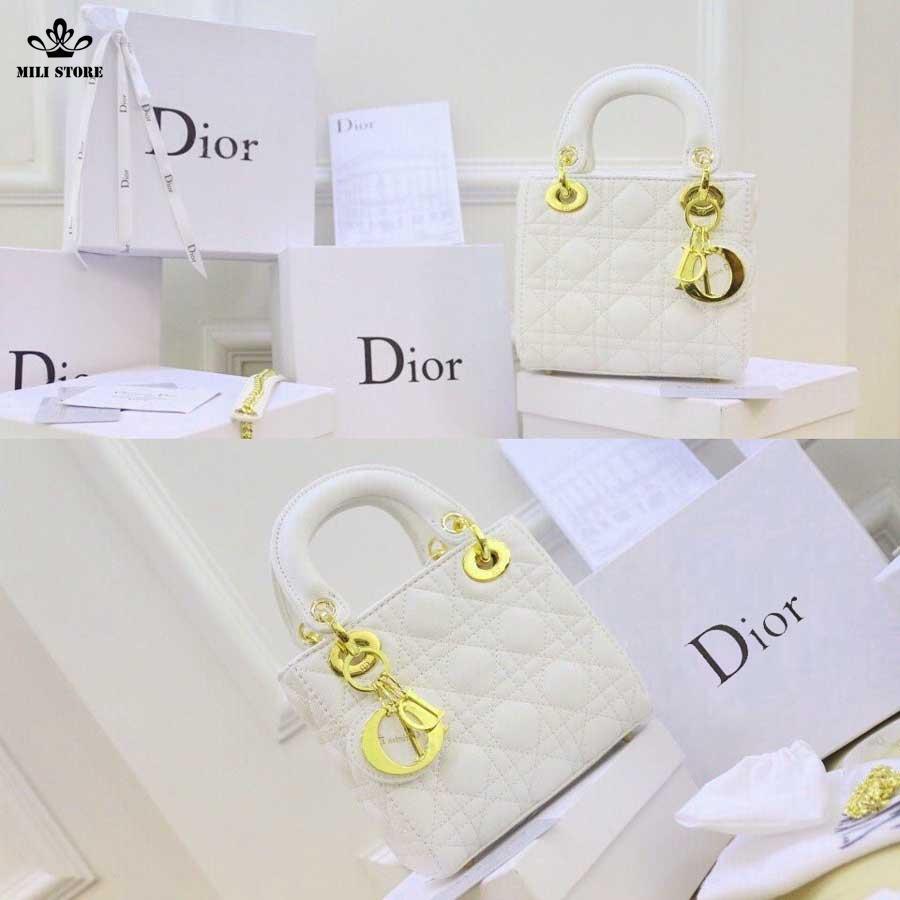 Túi xách Dior 3 ô đẹp đẳng cấp