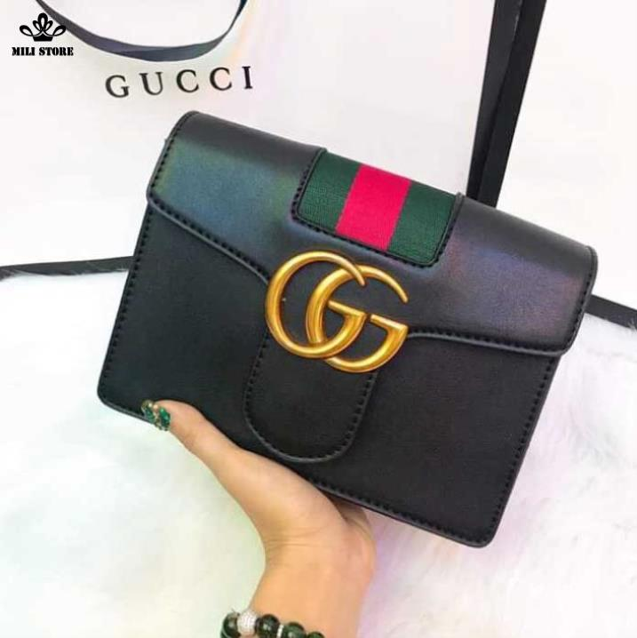 Túi xách Gucci hộp màu đen