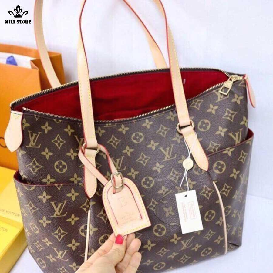 Louis Vuitton Neverfull MM Monogaram túi xách đi làm đi chơi size lớn đựng đồ thỏa sức