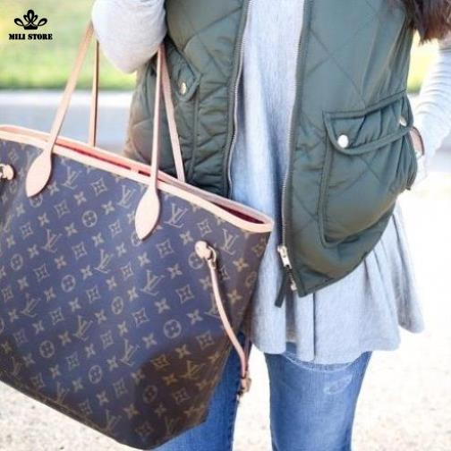 Túi xách LV Louis Vuitton Neverfull MM Monogaram zize to