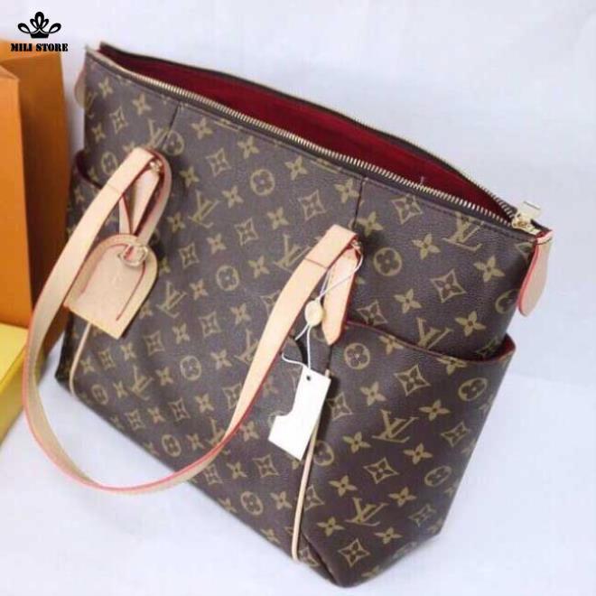 Túi xách tay Louis Vuitton Neverfull MM Monogaram đi làm đi chơi đi shopping cực lớn
