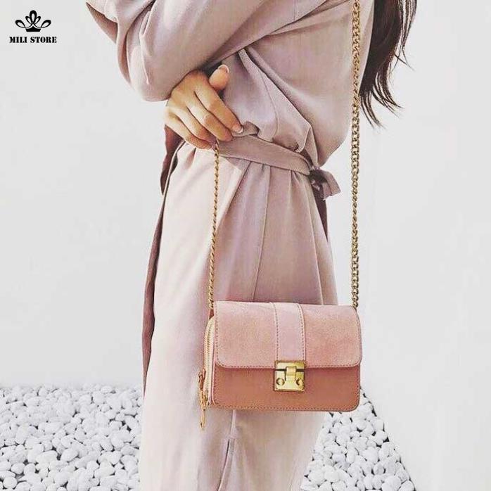 túi màu hồng