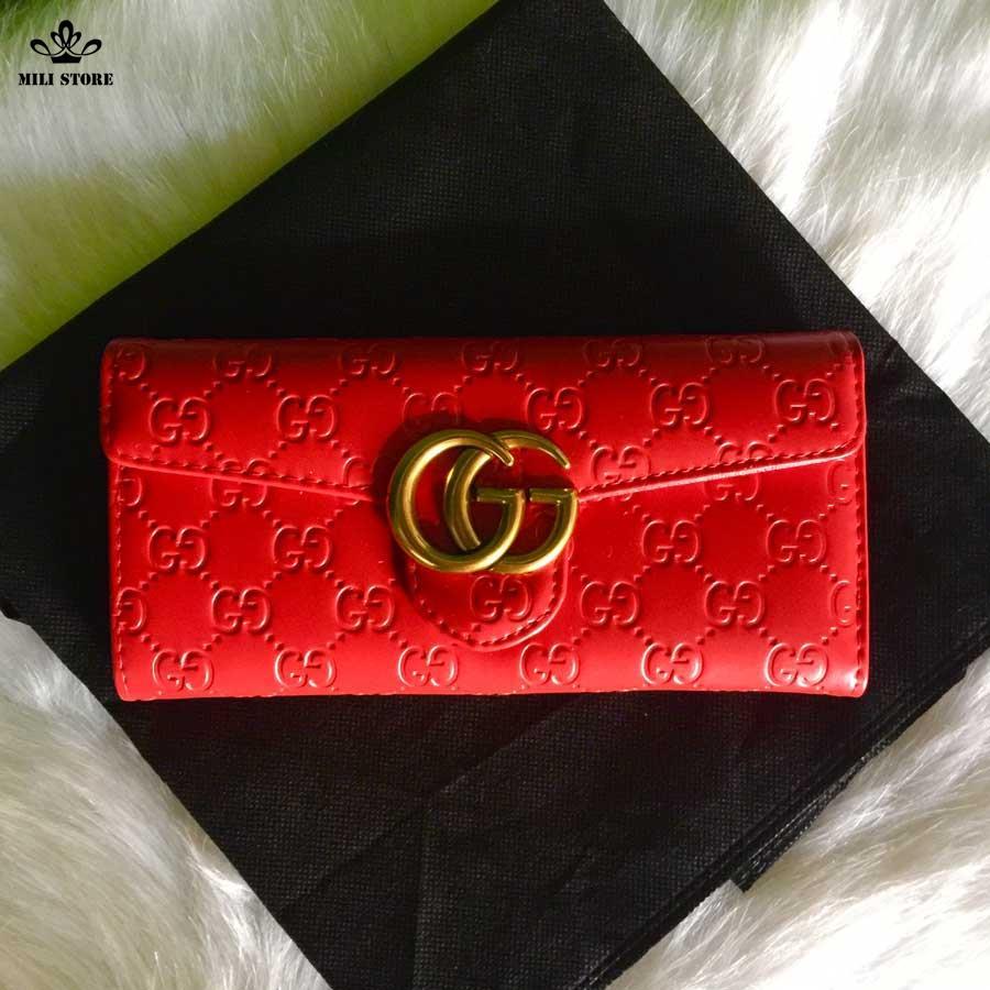 vi nữ Gucci màu đỏ đẹp giá thấp